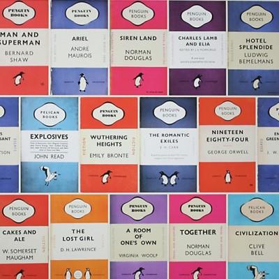 Osborne & Little Penguin classics book wallpaper