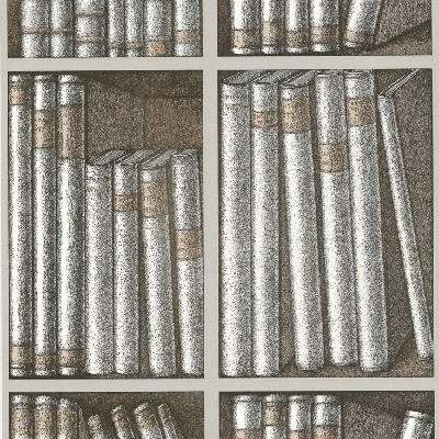 Ex Libris by Cole & Son library wallpaper