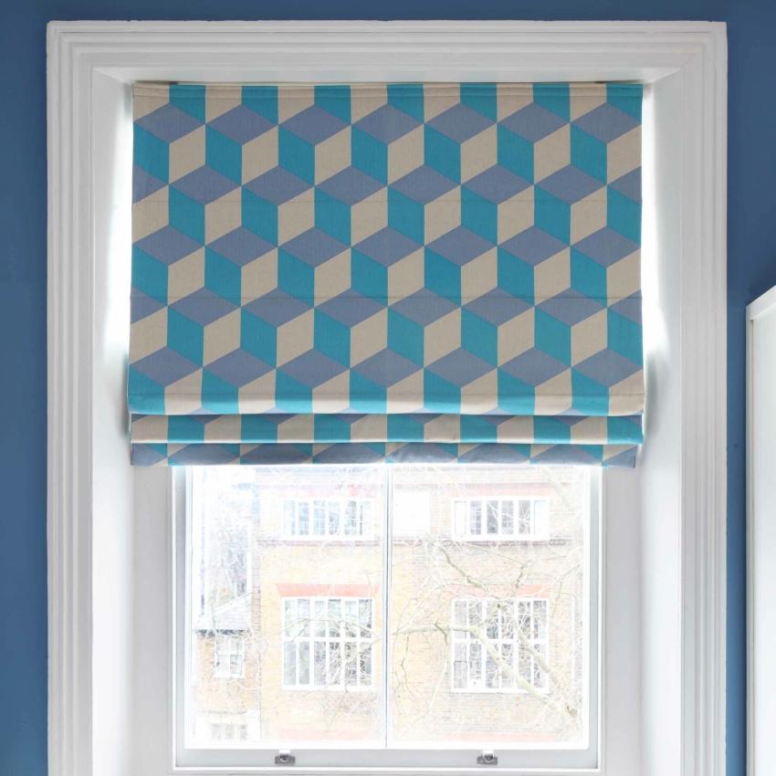Korla Home Cubes roman blinds