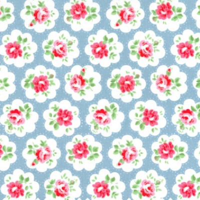 Cath Kidston Provence Rose vintage floral fabric