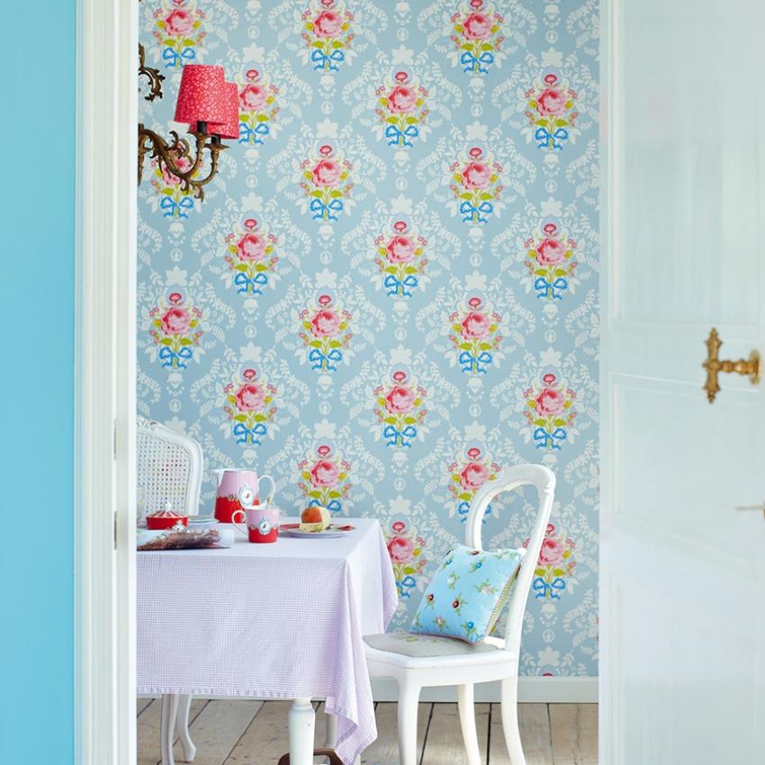 Shabby Chic Pip Studio vintage wallpaper fabric