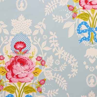 Shabby Chic Pip Studio vintage floral wallpaper
