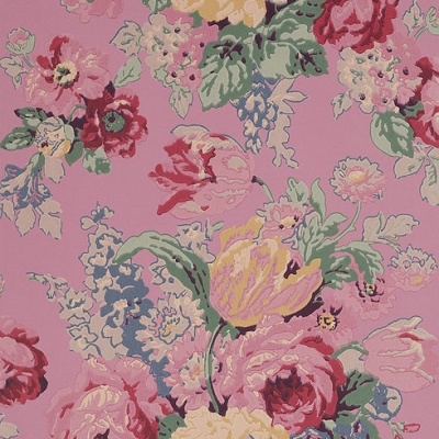 Anna French Bouquet Vintage Floral Wallpaper