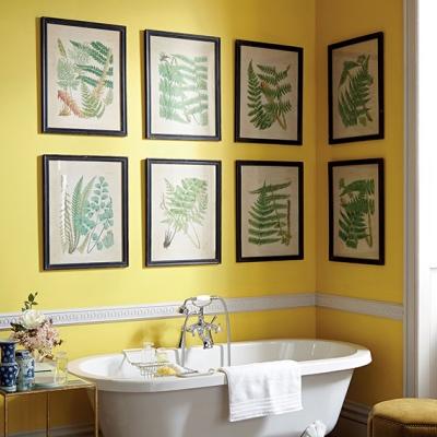 OKA fern prints