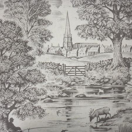Lewis & Wood Royal Oak country life wallpaper