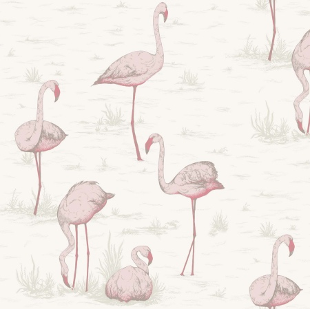 Flamingoes animal print wallpaper by Cole & Son