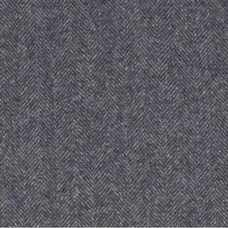 Ian Mankin Haworth Dark Navy wool fabric