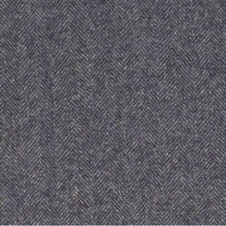 Ian Mankin Haworth Dark Navy wool fabric