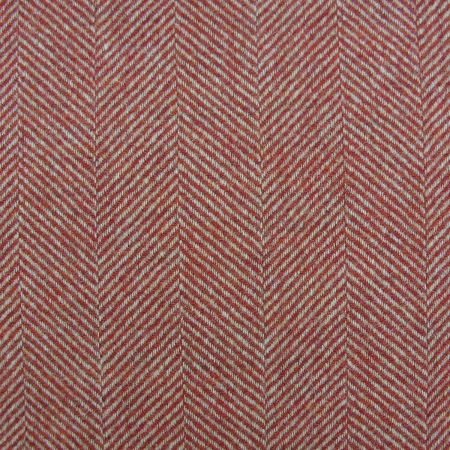 Tinsmiths Galloway red wool fabric