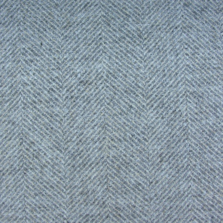 Tinsmiths Galloway smoke grey wool fabric