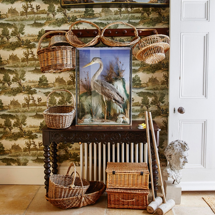 Fly Fishing Lewis & Wood country sporting wallpaper