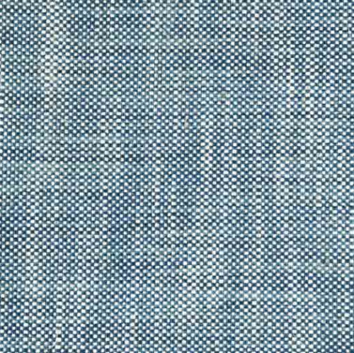 Ian Mankin Newbury Hopsack Blue weave fabric upholstery curtains