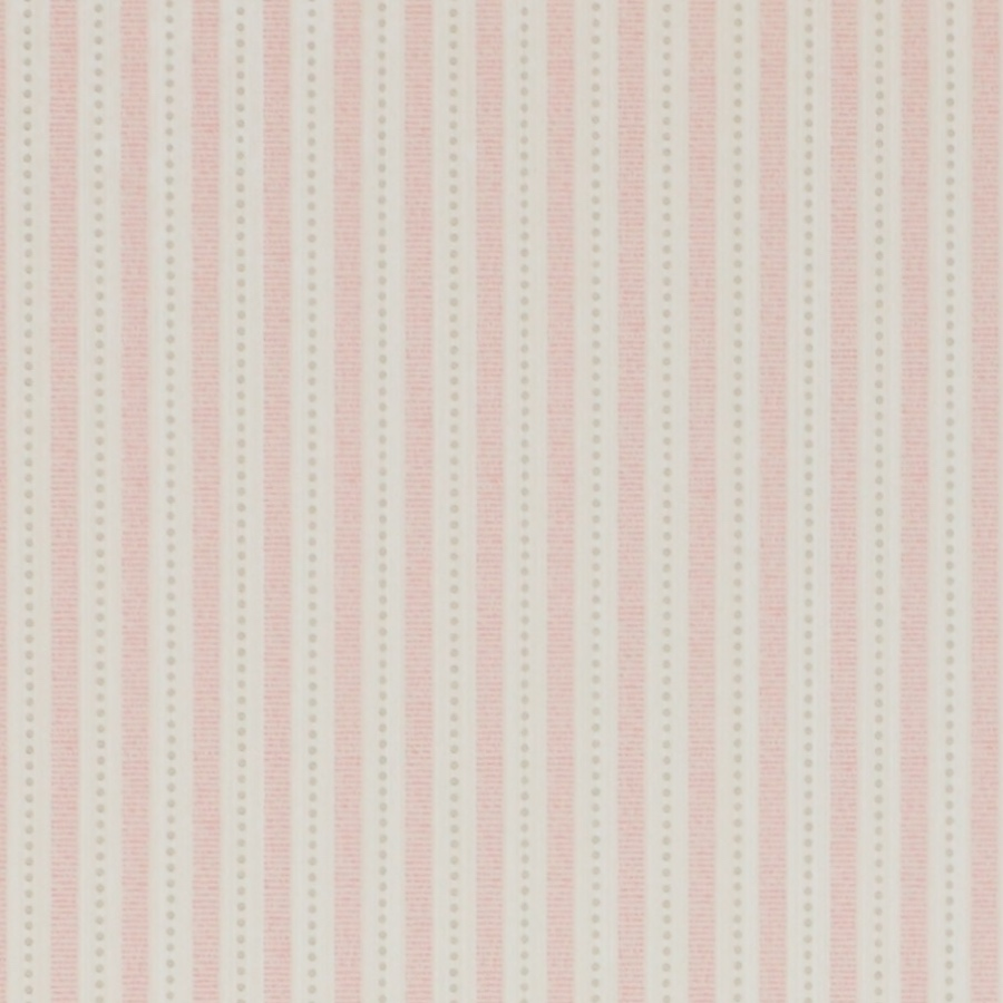 Colefax and Fowler Ditton Stripe 07146/03 pink and white stripe wallpaper childrens bedroom