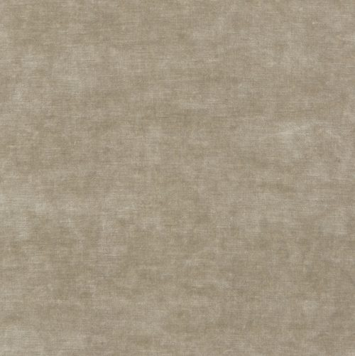 Heavyweight deep pile beige contemporary velvet, King's Velvet in Parchment