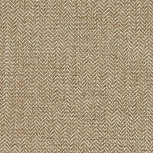 Manuel Canovas Kansas Lin soft beige herringbone fabric