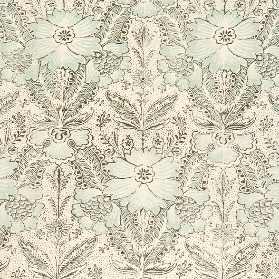 Cloth and Clover Abberley duck egg linen fabric