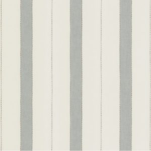 Colefax and Fowler Chaney Aqua sheer striped fabric