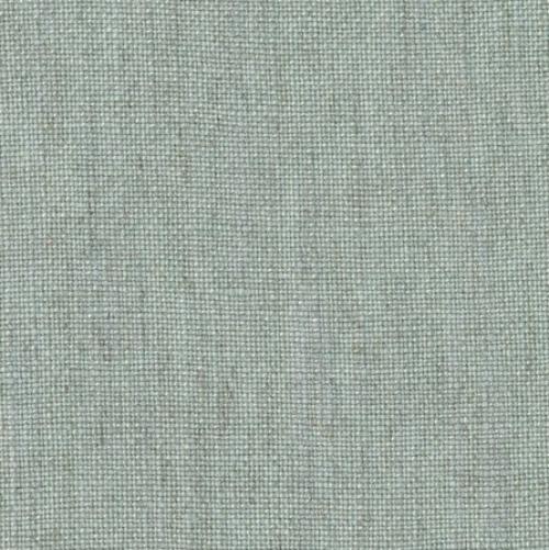 Lewis & Wood Oaksey Linen Sea Holly duck egg blue linen fabric