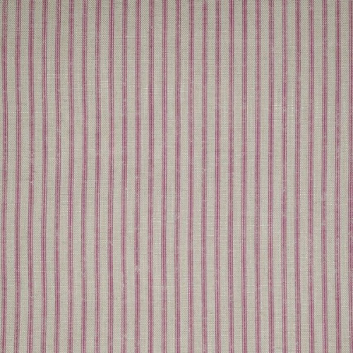 Andrew Martin Savannah Paradise pink stripe ticking fabric