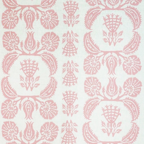 Charlotte Gaisford Ottoman Dream Pink children's bedroom fabric