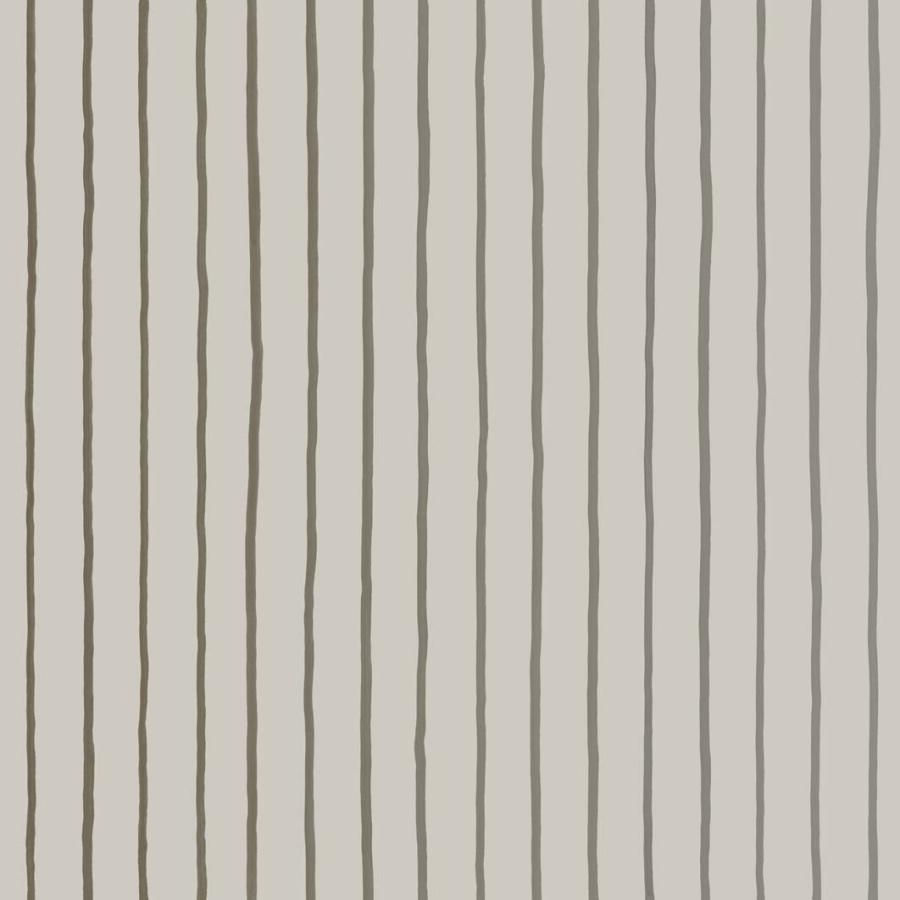 Cole & Son College Stripe linen brown stripe wallpaper