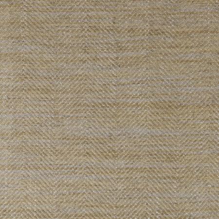 Ian Mankin Arran Natural yellow herringbone fabric