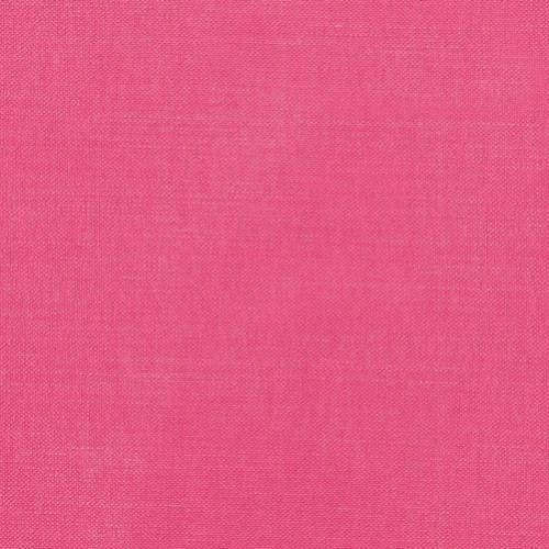 Romo Linara Hot Pink washable linen union for upholstery