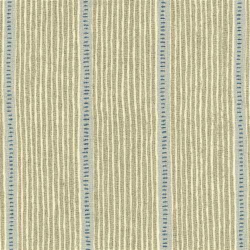 Vanessa Arbuthnott Stripe & Dash, stone, duck egg & denim stripe linen fabric curtains