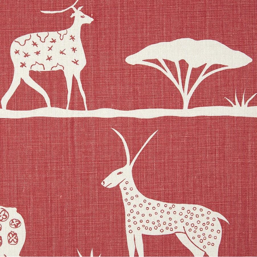 Vanessa Arbuthnott Wild & Free Tomato red linen