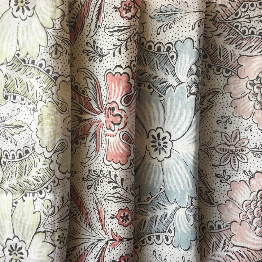 Cloth & Clover Abberley mid scale floral fabric