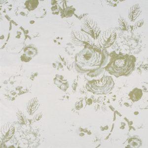 Neptune Emma Sage green floral linen