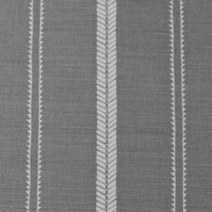 Zoe Glencross Slade Stripe Rock Grey best roman blind fabrics