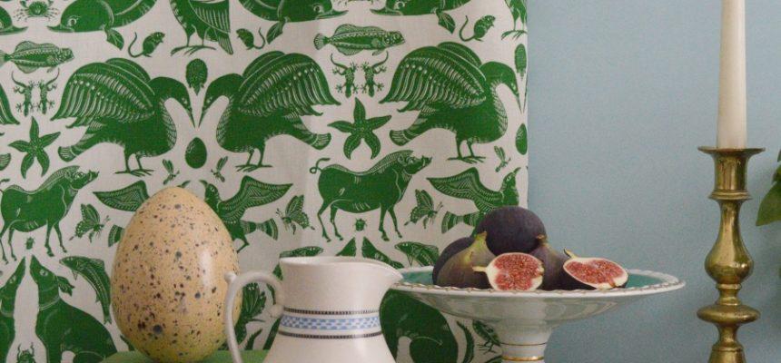 Fanny Shorter Birds & Beasts best animal fabric