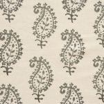 Vanessa Arbuthnott Life & Eternity charcoal grey white fabric roman blinds