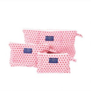 Molly Mahon Tuk Tuk pink washbag