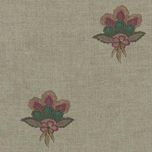 Inchyra Balazuc Aged linen Trefoil Natural