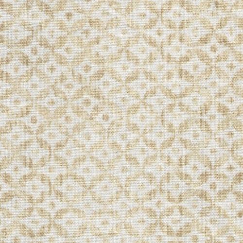 Inchyra Dedalo Mustard small scale fabric