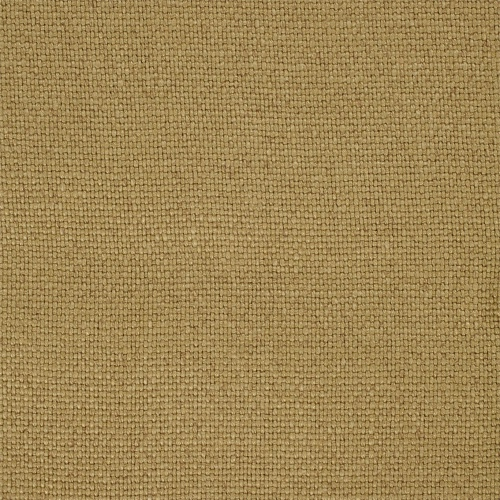 Sanderson Woodland Plain Old Gold upholstery curtain linen