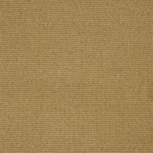 Sanderson Woodland Plain Old Gold upholstery curtain linen