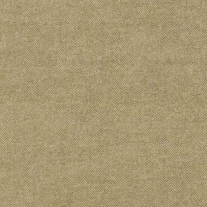 GP&J Baker Trevor Spring herringbone green fabric