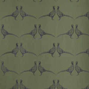 Barneby Gates Pheasant wallpaper camo green