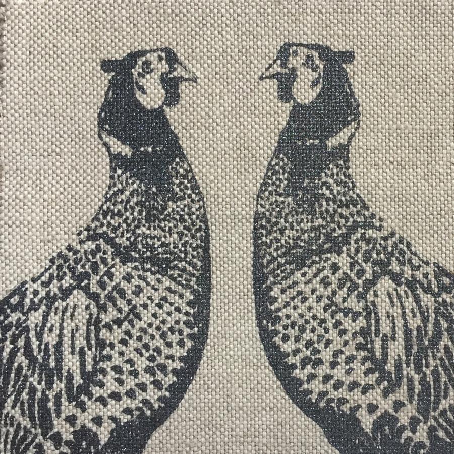 Barneby Gates pheasant fabric