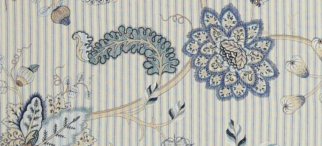 Manuel Canovas Bellecombe Mer embroidered curtain fabric