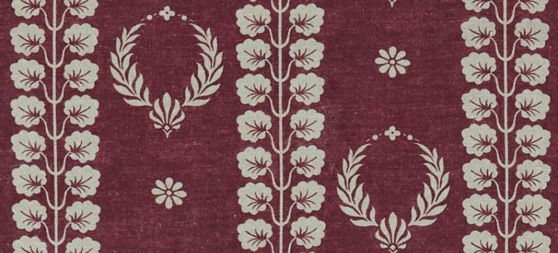 Inchyra Couronne Damson pink linen