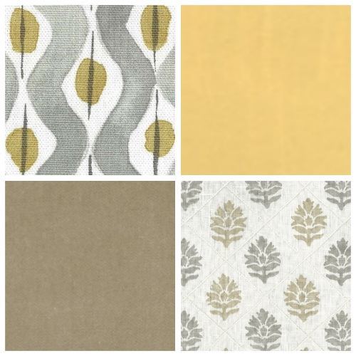 Nina Campbell Beau Rivage Camille moodboard patternscheme