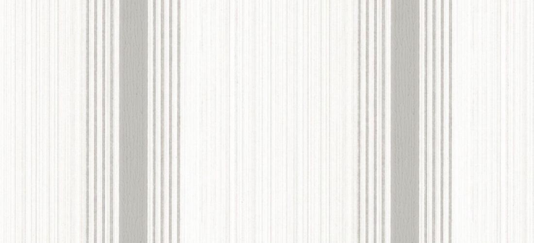 Little Greene Cavendish Stripe brush stone grey striped wallpaper