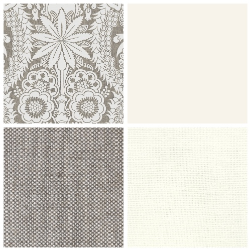 Lewis & Wood Hanbury moodboard decorating scheme