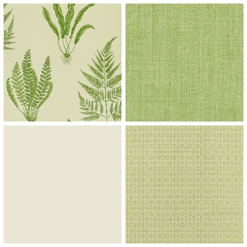 Leaf wallpaper Woodland Ferns Sanderson