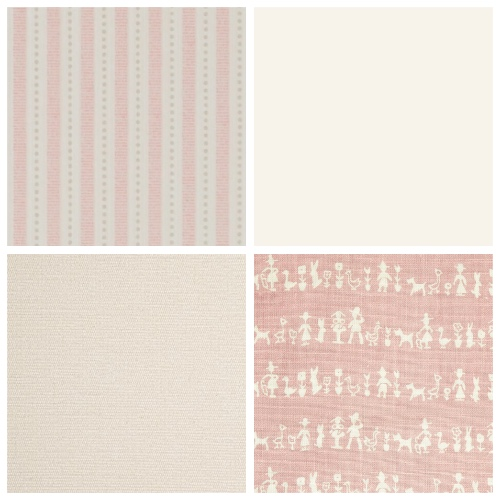 Cloth & Clover Peopleton pink girls bedroom scheme