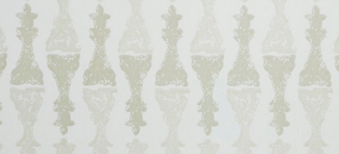 Barneby Gates Chess Stone beige wallpaper